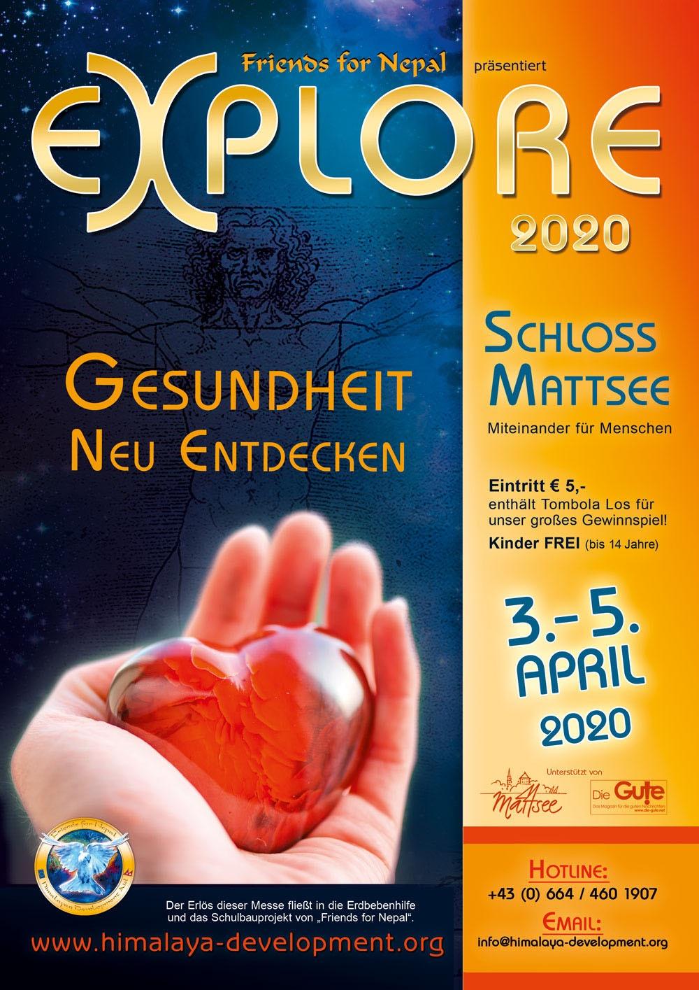 Explore-Gesundheitsmesse