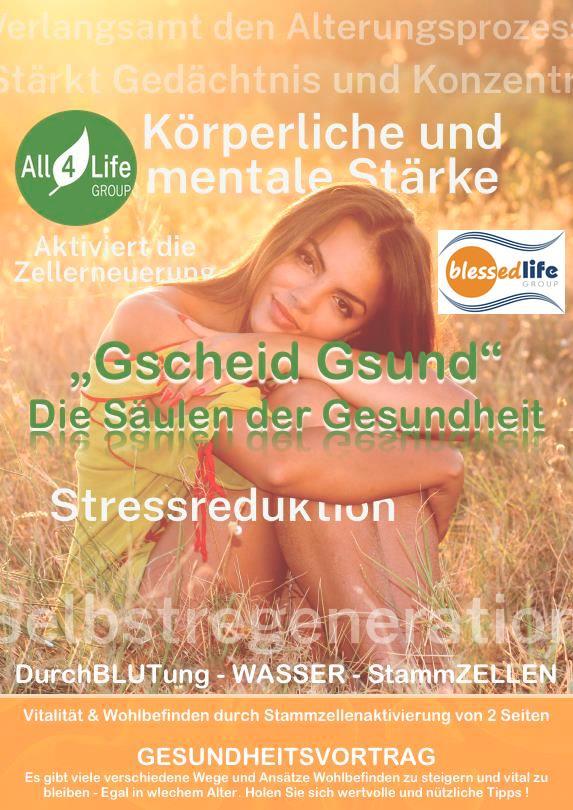 """A-Wien Gesundheitsvortrag """"Gscheid Gsund"""""""